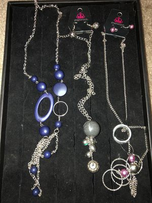Necklaces bundle from paparazzi for Sale in Chino, CA