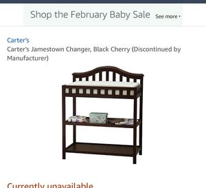 carters jamestown changing table for Sale in Los Angeles, CA