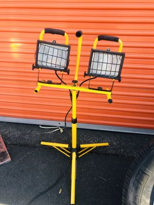 Twin halogen lights for Sale in Napa, CA