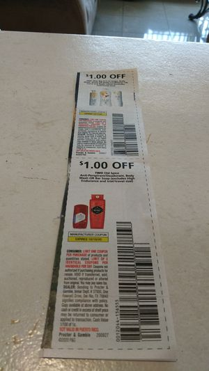 Olay Body conditioner,old Spice cupones for Sale in Miramar, FL