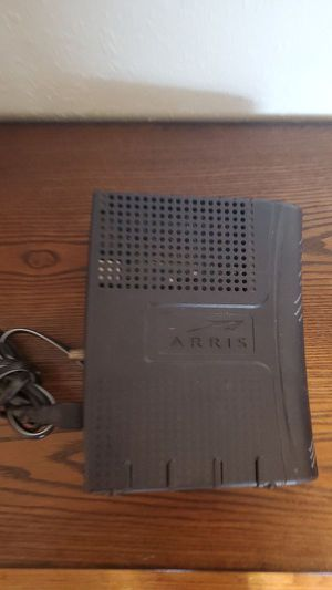 Arris Modem Works great comes with powe cable for Sale in Montclair, CA