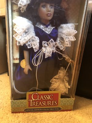 Rare Classic Treasures Genuine Fine Bisque Porcelain Doll for Sale in Lynchburg, VA