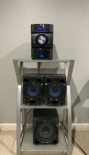 Sony Speaker System (with subwoofer) for Sale in Princeton, NJ