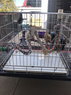 Metal bird cage for Sale in Upland, CA