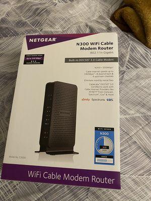 netgear modem router for Sale in Las Vegas, NV