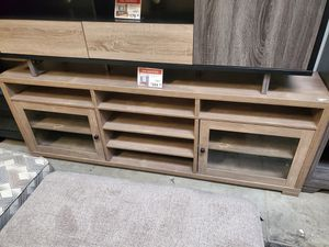 Tv Stand for Tvs up to 80 Inch, Hazelnut for Sale in Santa Fe Springs, CA