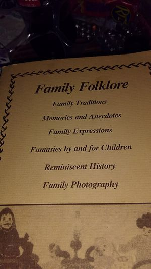 Family Folklore for Sale in Hyattsville, MD
