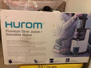 Hurom premium slow juicer for Sale in Payson, AZ
