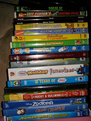 18 kids dvds for $10 for Sale in Haines City, FL