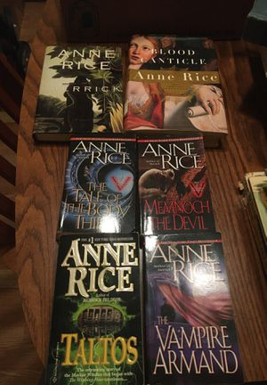 Anne Rice Books for Sale in Spring Hill, FL