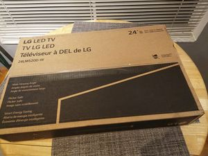 LG 24 inch television HD NEW in box never used PRICE FIRM for Sale in Fort Lauderdale, FL
