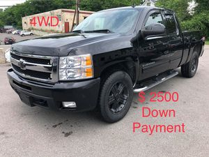 2010 Chevy Silverado 4WD $ 2500 Down Payment for Sale in Nashville, TN