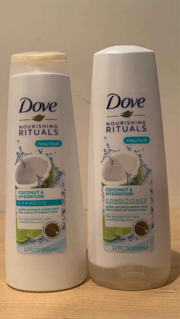 Dove Nourishing Rituals coconut & hydration shampoo & conditioner: both for $4