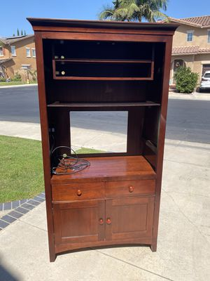 Kincaid Solid Hardwood entertainment center / TV stand for Sale in Tustin, CA