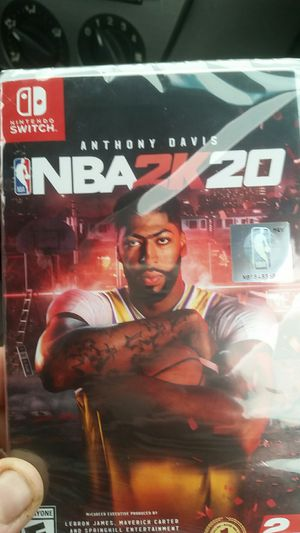 NBA 2k20 for Nintendo switch brand new for Sale in Seattle, WA
