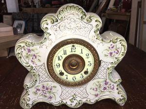 Antique Dresden porcelain clock for Sale in Whittier, CA