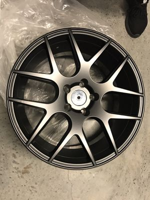 4 Black rims package for Sale in SUNNY ISL BCH, FL