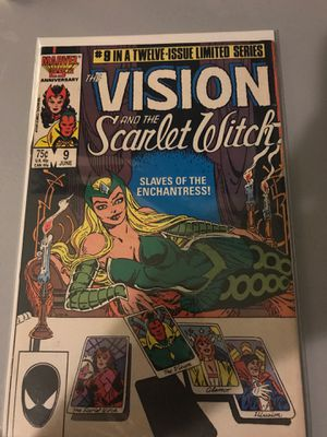 Rare scarlet witch and vision comics for Sale in Tampa, FL