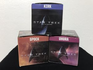 Star Trek collectible drinking glasses only 3. for Sale in Tampa, FL