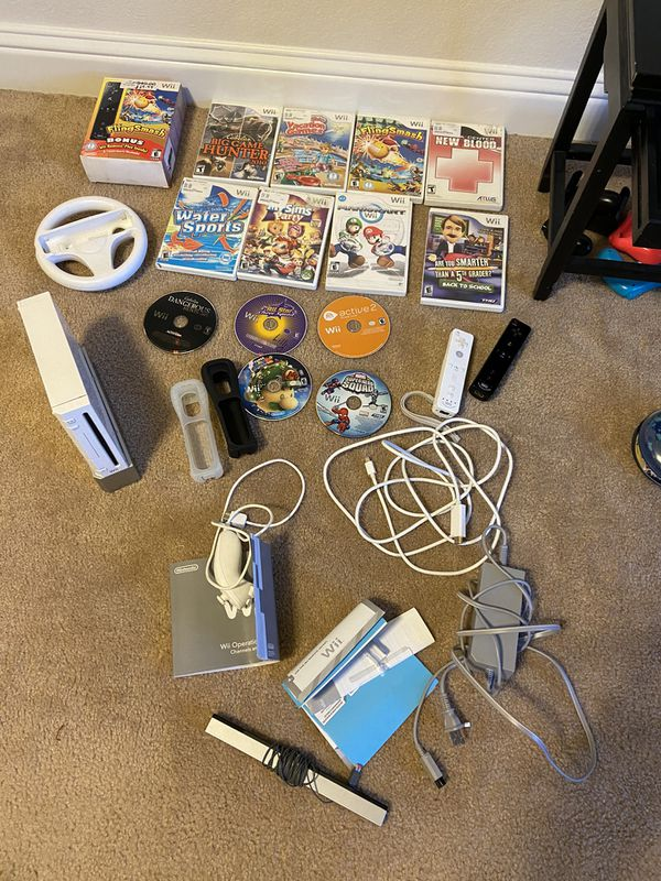 Nintendo Wii games and accessories