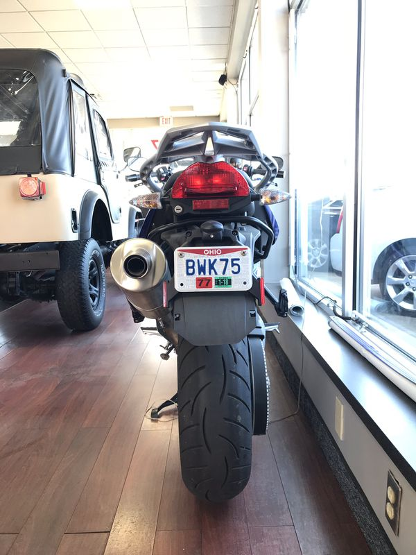 2017 BMW F800GT motorcycle
