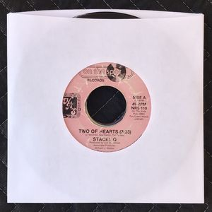 Stacey Q - Two Of Heart (45 RPM) Vinyl Record for Sale in Corona, CA