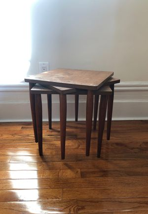 Mid Century Stacking Tables for Sale in New York, NY