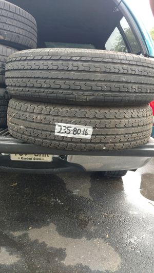 Tires 235-80-16 for Sale in Bordentown, NJ
