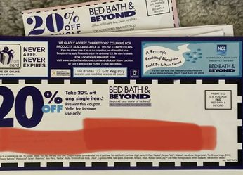 Bed Bath Beyond Coupons for Sale in Aurora,  OR
