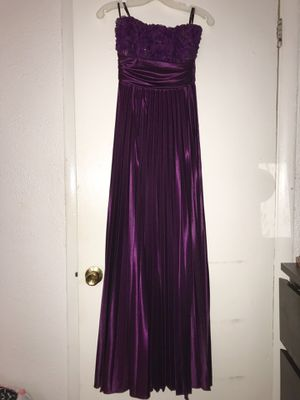 Formal Strapless Purple Dress for Sale in Washington, DC