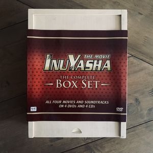 Inuyasha Movie Collection - Box Set for Sale in Cedar Hill, TX