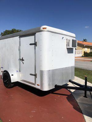 CAMPING TRAILER 6x10 enclosed trailer for Sale in Miami, FL