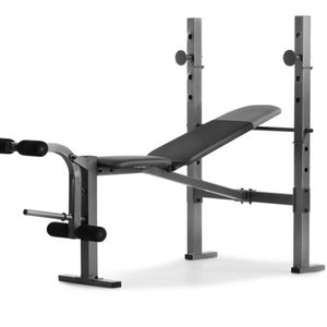 New In Box Bench and Rack Combo With Leg Developer ****No Weights No Bar for Sale in Burien, WA