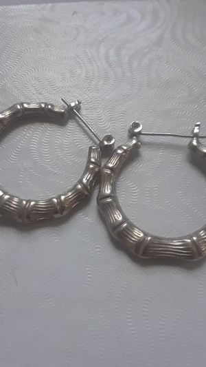 Sterling Silver hoop earrings for Sale in Tampa, FL