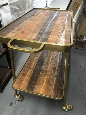 Bar cart 27x16 H 28 for Sale in Las Vegas, NV