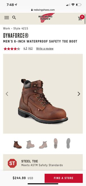Redwing boots for Sale in Miramar, FL