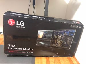 "Lg 34"" ultra wide ips monitor 21:9 thunderbolt 34um88 for Sale in Mountain View, CA"