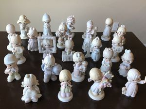 Precious moments figurines $5 each for Sale in Canby, OR