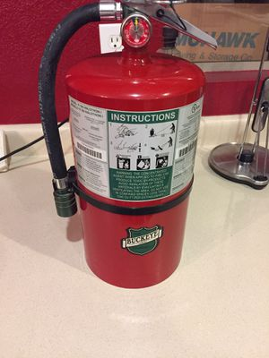 Buckeye 11 lb. Halotron Fire Extinguisher 71100 - UL Rated 1A-10B:C - Rechargeable Untagged for Sale in Scottsdale, AZ