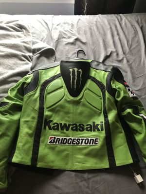 Kawasaki motorcycle jacket. for Sale in Atglen, PA