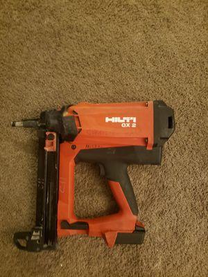 Hilti Nail gun ( pistola de clavos ) usada en buenas condiciones for Sale in Silver Spring, MD