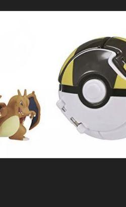 Pokemon Takara Tomy Charizard & Ultra Ball (Read description) FREE SHIPPING for Sale in Brooklyn,  NY