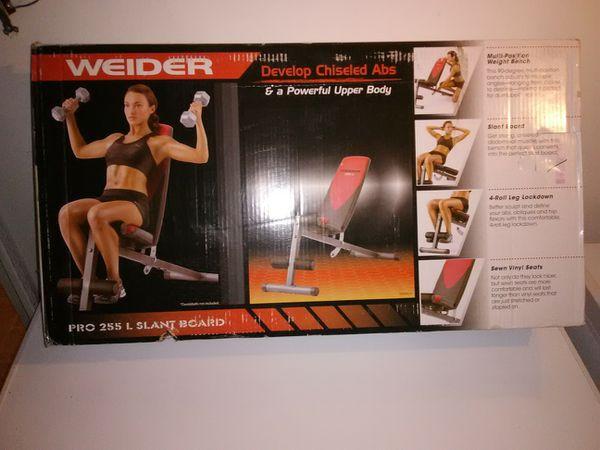 Brand New Weider Pro 255L Slant Board - $80 OBO