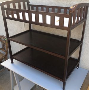 Brown Baby Changing Table for Sale in Philadelphia, PA