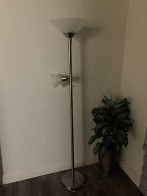 Floor Lamp - almost brand new for Sale in Santa Monica, CA