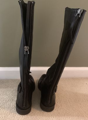 Black Boots Size 6 for Sale in Olney, MD
