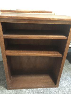 Solid wood bookshelf for Sale in Belleair, FL