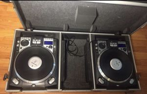 Numark CDX Professional CD Double Turntable Pair Real Pro DJ Equipment Setup for Sale in Lynnwood, WA