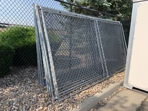 Chain link fences (6ft high x 12ft wide) x 13 for Sale in Aurora, CO