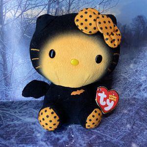 "Rare Sanrio TY Hello kitty Bat 6"" plush for Sale in Bellflower, CA"